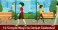 Take a Walk: The Best Tip to Fight Diabetes